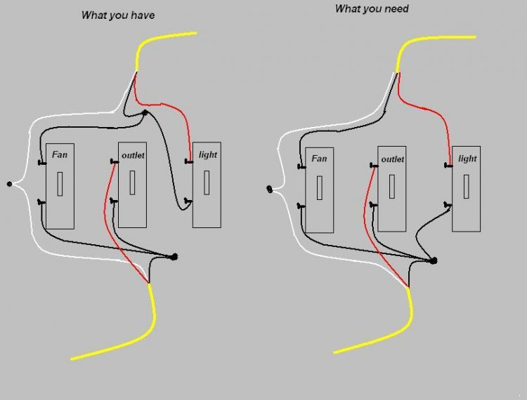 3 gang switch wiring diagram lighting circuit uk wall great installation of outlet get free image about smart with
