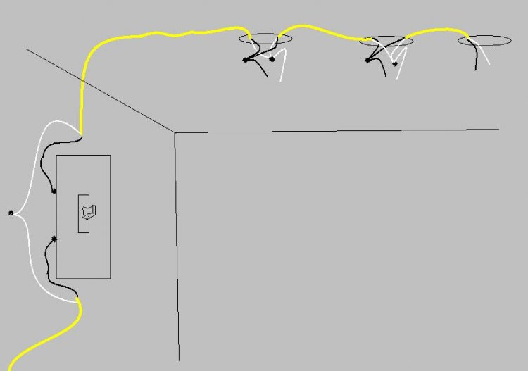 Adding a switch to an existing circuit