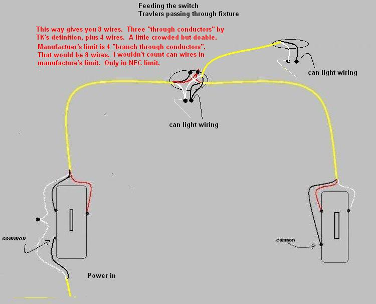 Wiring diagram for recessed lighting efcaviation recessed lighting wiring diagram parallel wiring recessed lights 606 asfbconference2016 Images