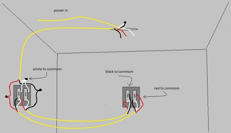 3 Way Switch Wiring Diagram Variations Ceiling Light - Wiring ...