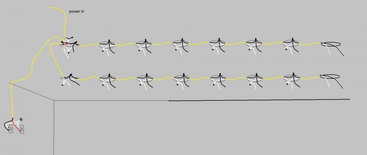 multiple lights one switch diagram hostingrq com multiple lights one switch diagram wiring multiple lights to one switch diagram nilza lighting