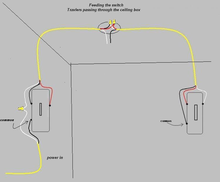 3 way switch terminals