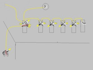 How to Wire Two Light Switches With 2 lights with One
