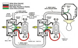 Wiring diagram for 2 switches on 1 light