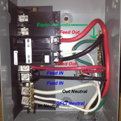100 Amp Panel Wiring Diagram Tridonic T8 Ballast I Have A Midwest Spa Sub Does The Common Hook To Lug Under Nutaael Bar