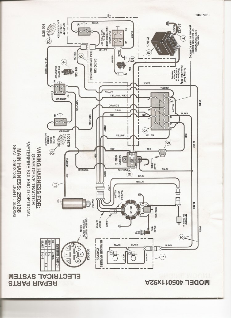 John Deere Gt262 Wiring Diagram as well John Deere Gt235 Lawn Tractor Hood together with Diagram in addition Parts For Allis Chalmers 185 also Scotts Riding Lawn Mower Wiring Diagram. on john deere stx38 parts catalog