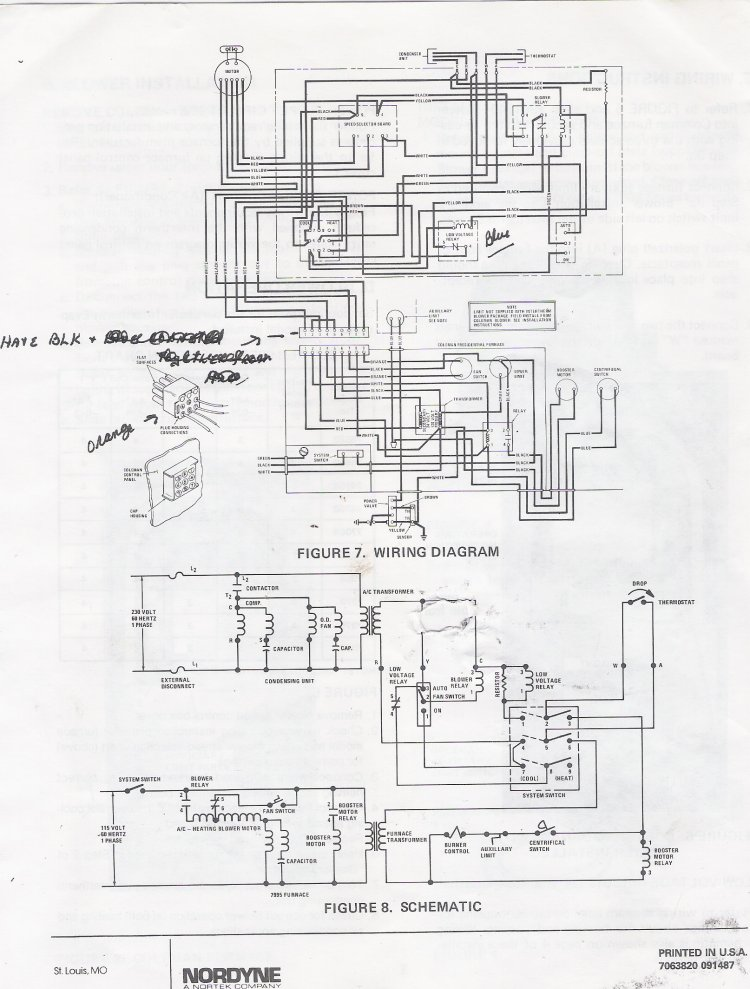 Wiring Diagram 7 American Standard Heat Pump Thermostat
