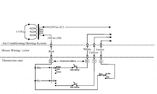 Wiring Diagram For Honeywell Rth221B