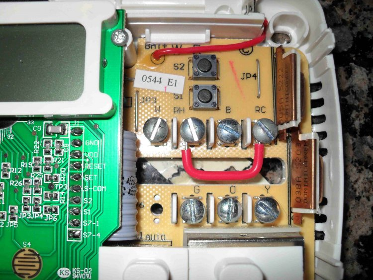Rodgers Thermostat Wiring Along With 5 Wire Thermostat Wiring Colors