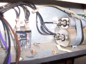 New condenser fan motor wiring