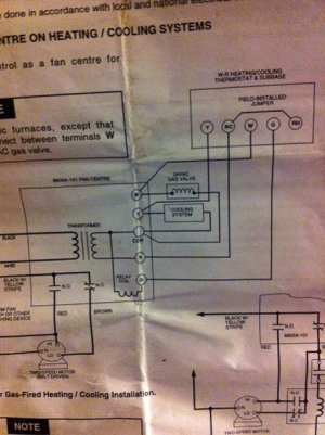 Wiring a Honeywell RTH2310 Thermostat