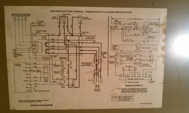magic chef hvac wiring diagram