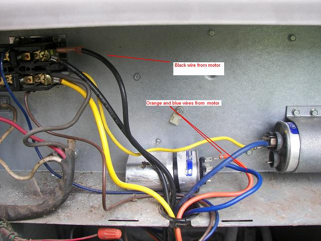 ac motor run capacitor wiring diagram economy 7 meter dual to two capacitors