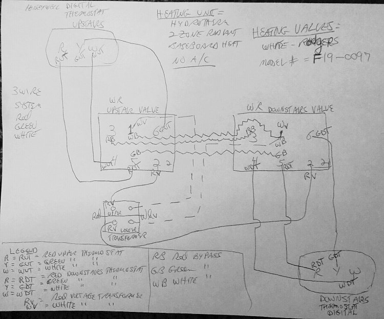 Wire On My Chromalox Boiler Home Heater Thermostat Wiring Diagram