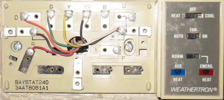 Trane Xe80 Thermostat Wiring Diagram