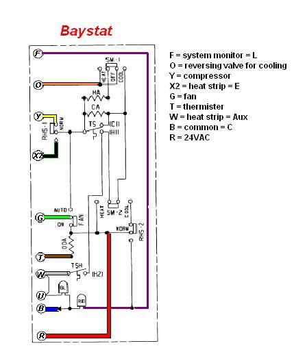 honeywell thermostat wiring heat pump