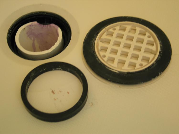 Gasket Drain Shower Pan