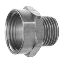 "1"" pvc adapter to 5/garden hose"