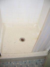 Fiberglass Shower Pan drain leek