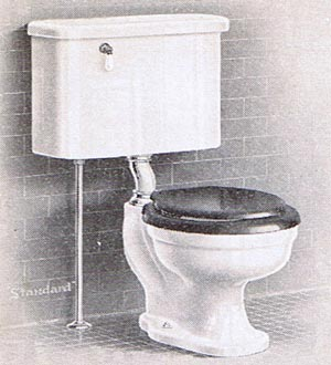 How do I drill a hole in a vitreous china toilet tank?