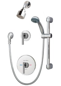 How to install diverter on shower