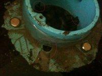Tile shower weep holes