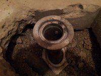 Shower Drain Removal