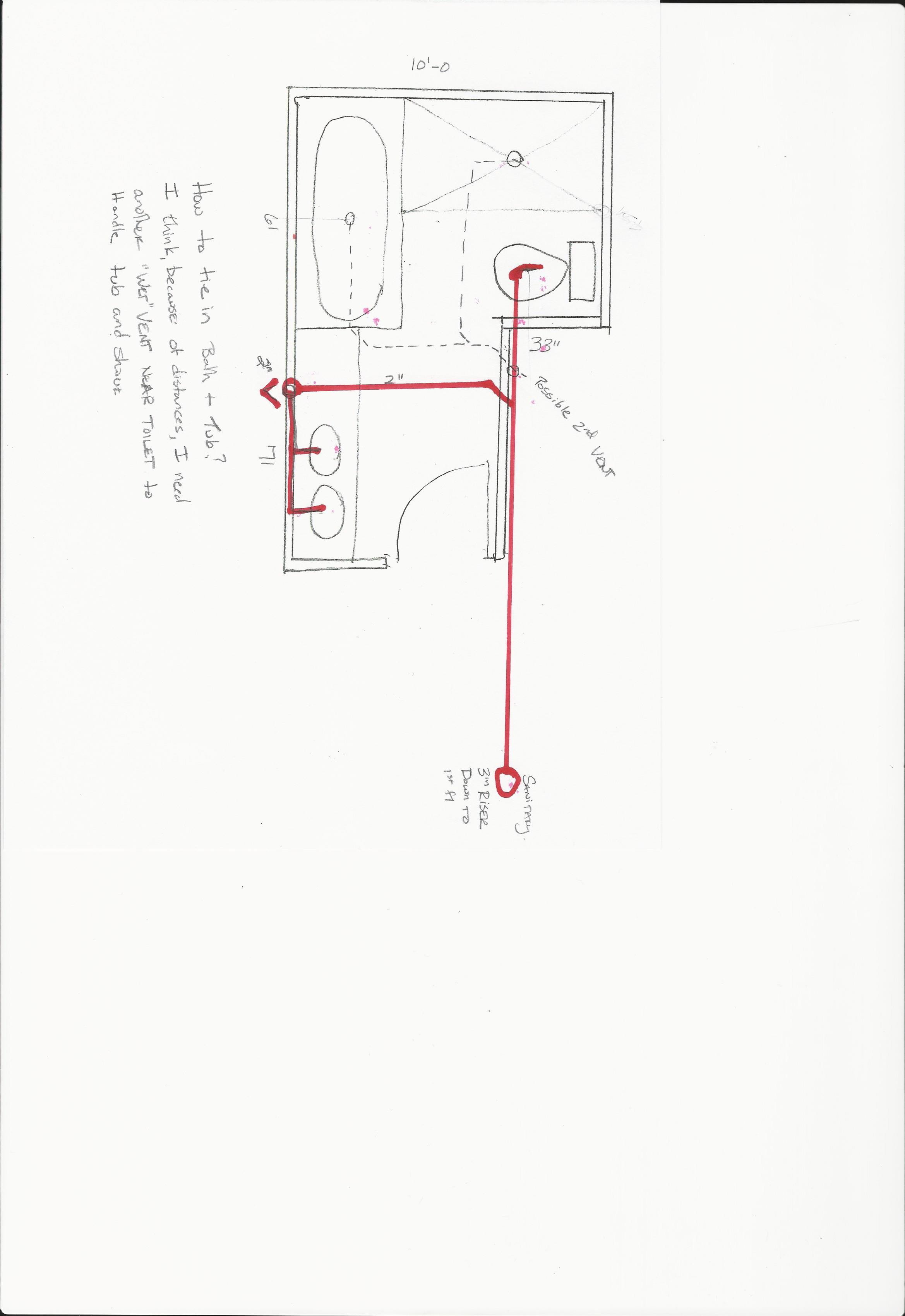plumbing sanitary riser diagram suzuki gsxr 750 wiring wet vent
