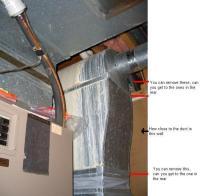 Fiberglass shower drain leak w/ PICS (wingtite?)