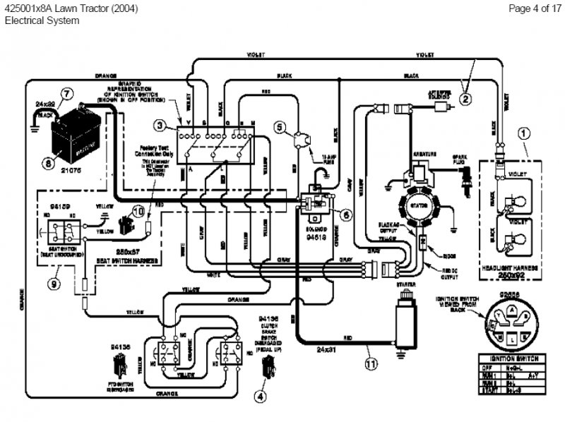 7 Terminal Ignition Switch Wiring Diagram Murray, 7, Free