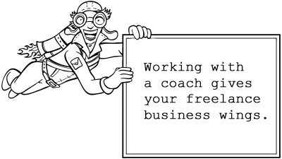 Working with a coach is like firing up a jet pack for your