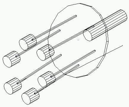 Transmission Angle Linkage, Transmission, Free Engine