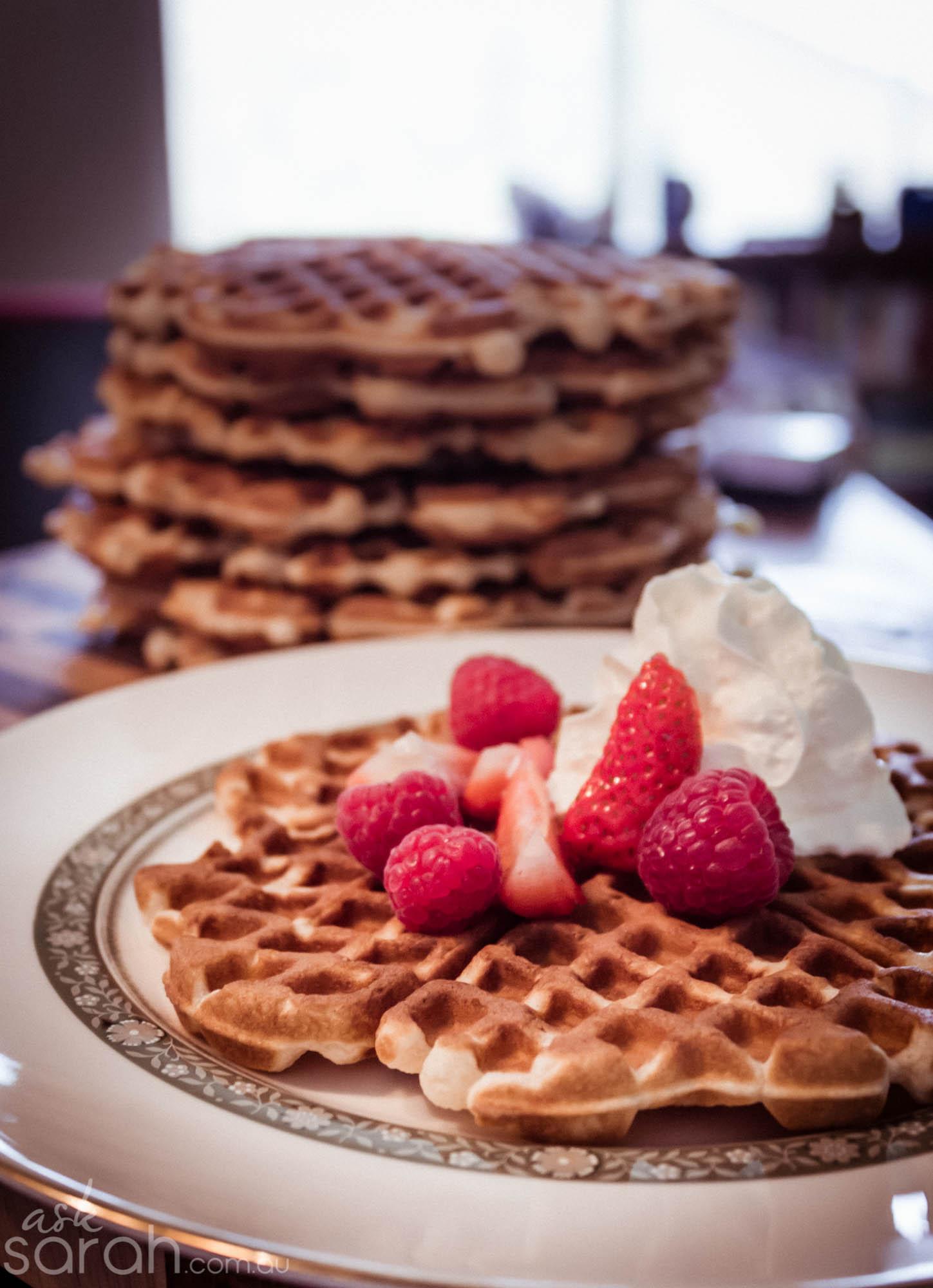 Recipe: Mr Asks Perfect Waffles