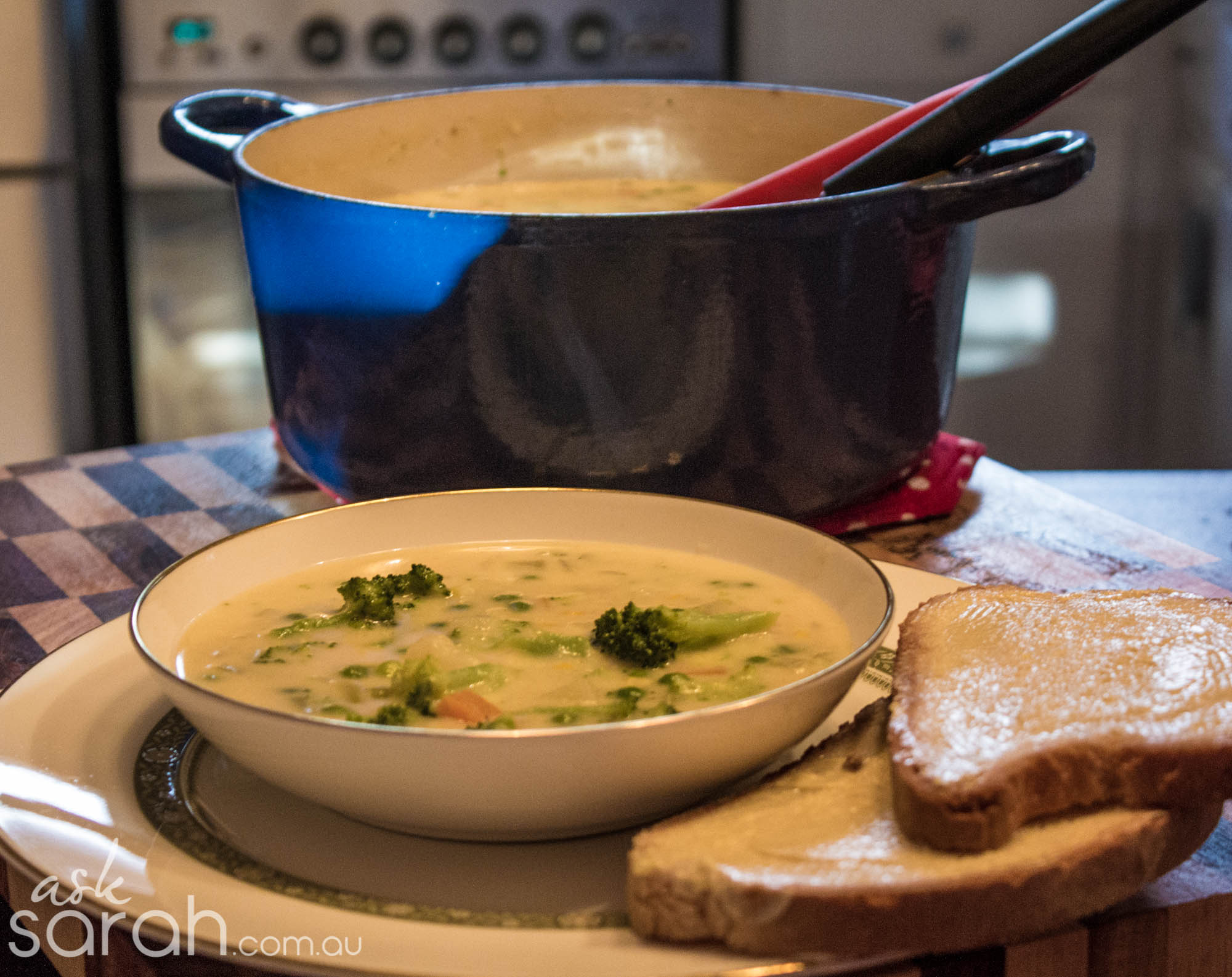 Recipe: Creamy Cheddar & Vegetable Chowder
