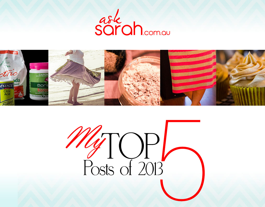 My Top 5 Blog Posts of 2013