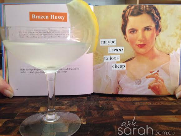Recipe: Brazen Hussy Cocktail
