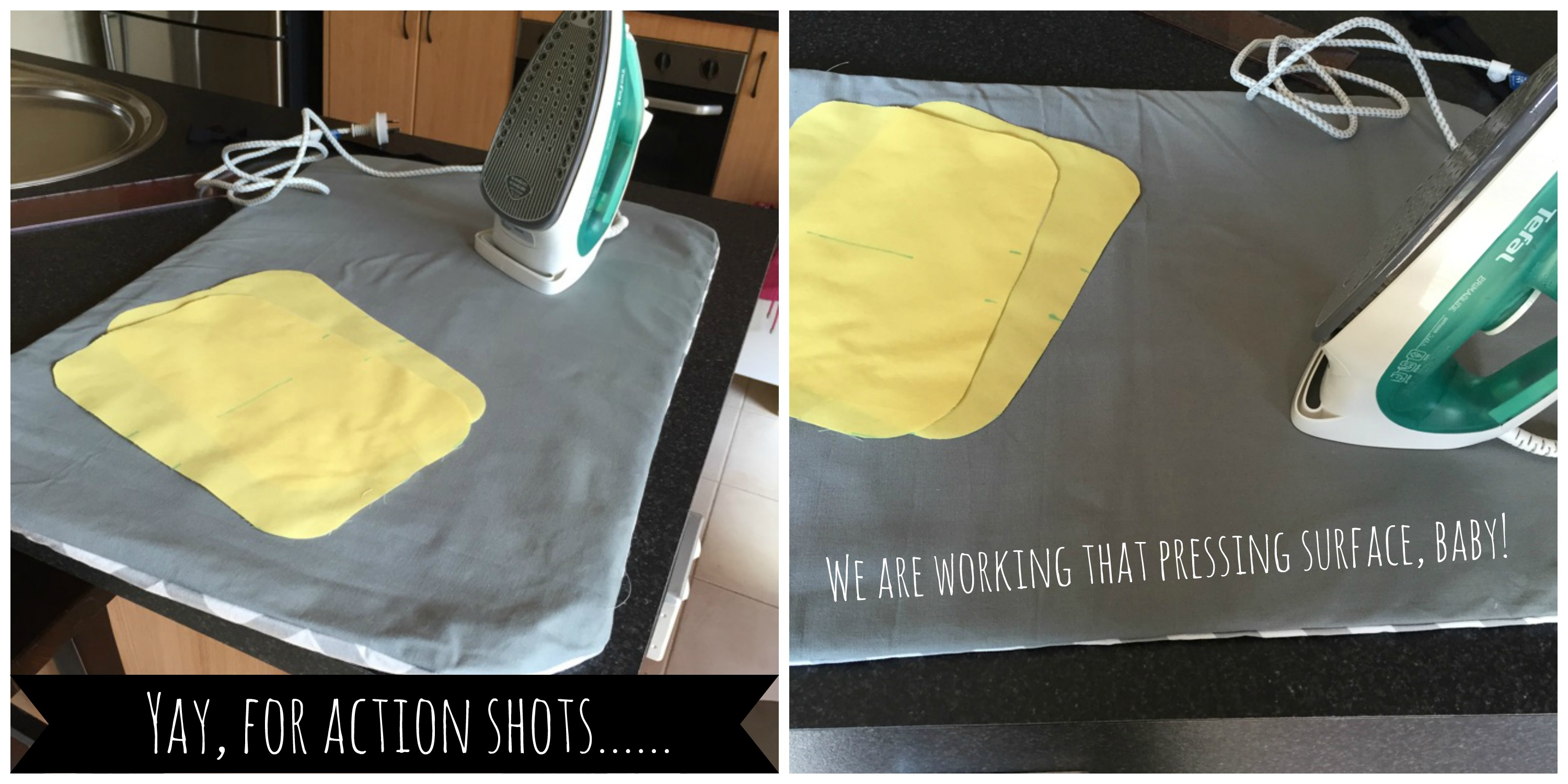 Sew: DIY A Thrifty Portable Pressing Mat {Turn Almost Any Surface into an Ironing Board}
