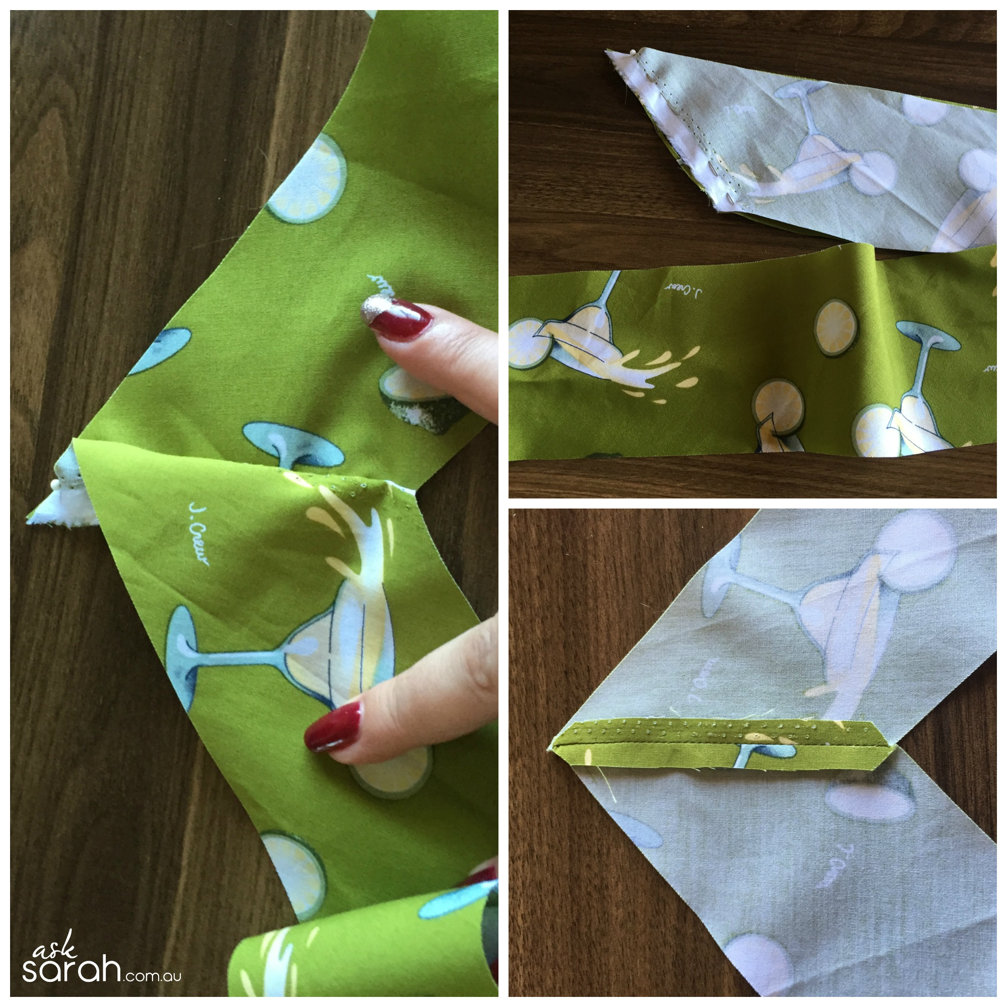 Sew: Removable Retro Décolleté Collar & Halter Strap Tutorial {Turn A Sweetheart Top Into 50's Style Top And Back Again}