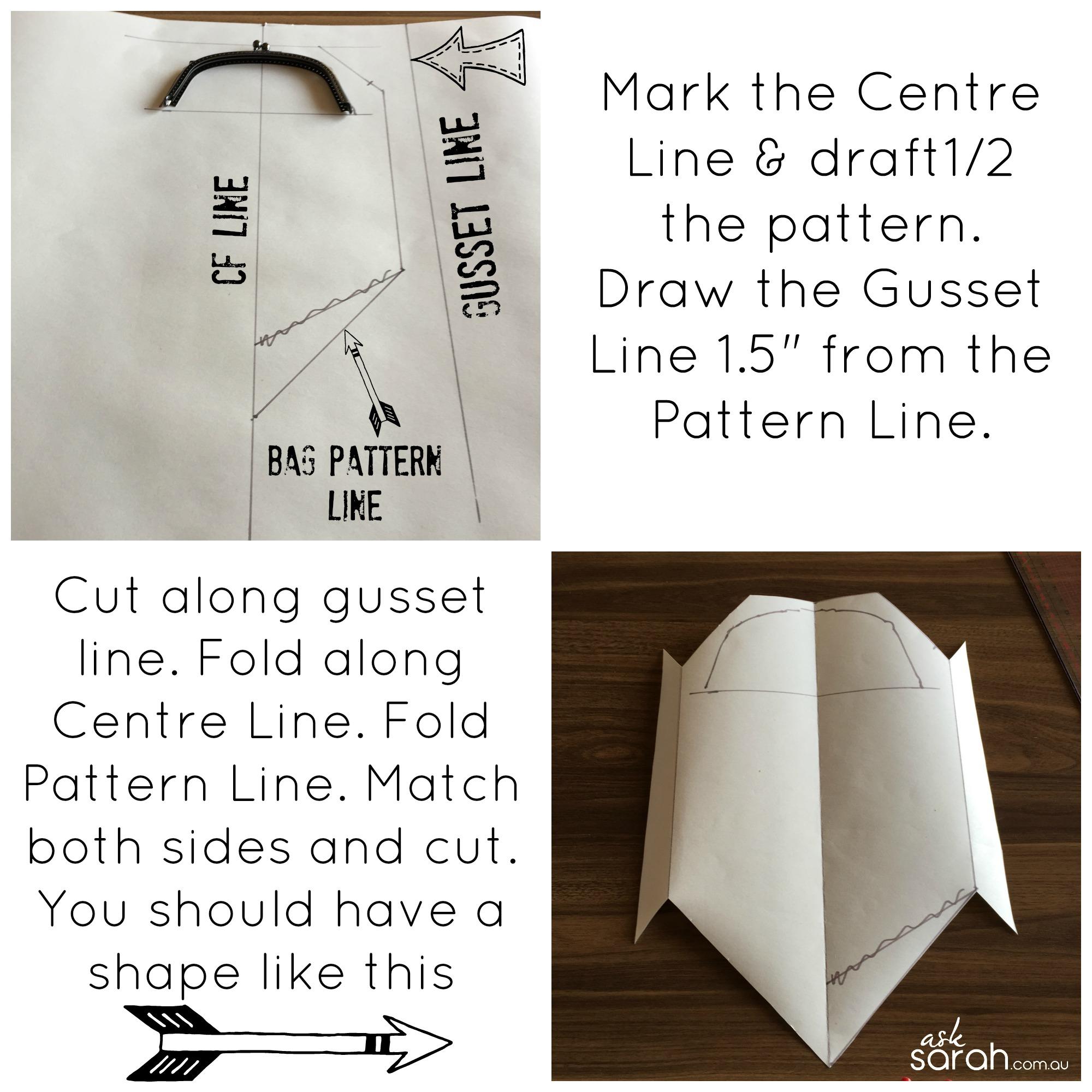 bag pattern Collage