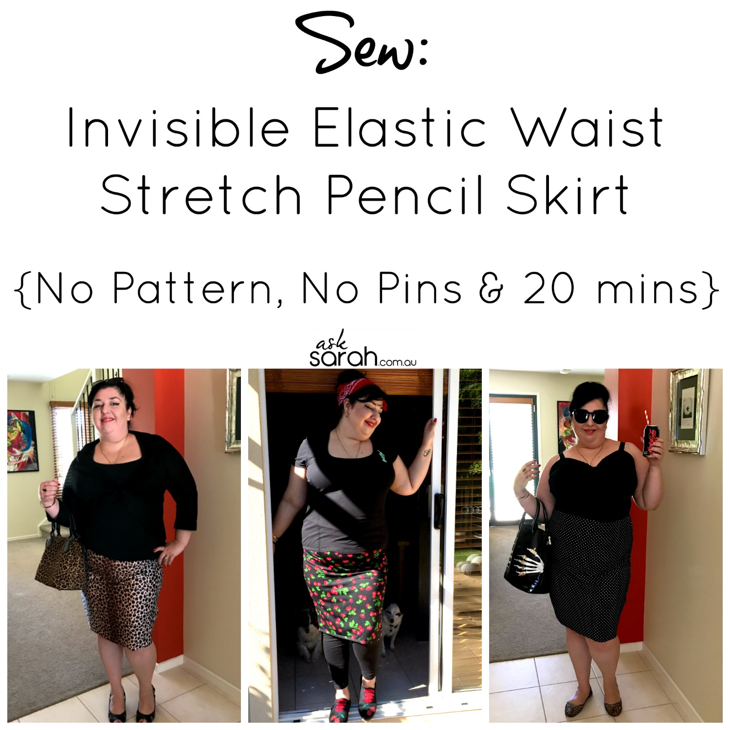 sew-invisible-elastic-waist-stretch-pencil-skirt-no-pattern-no-pins-20-mins-intro