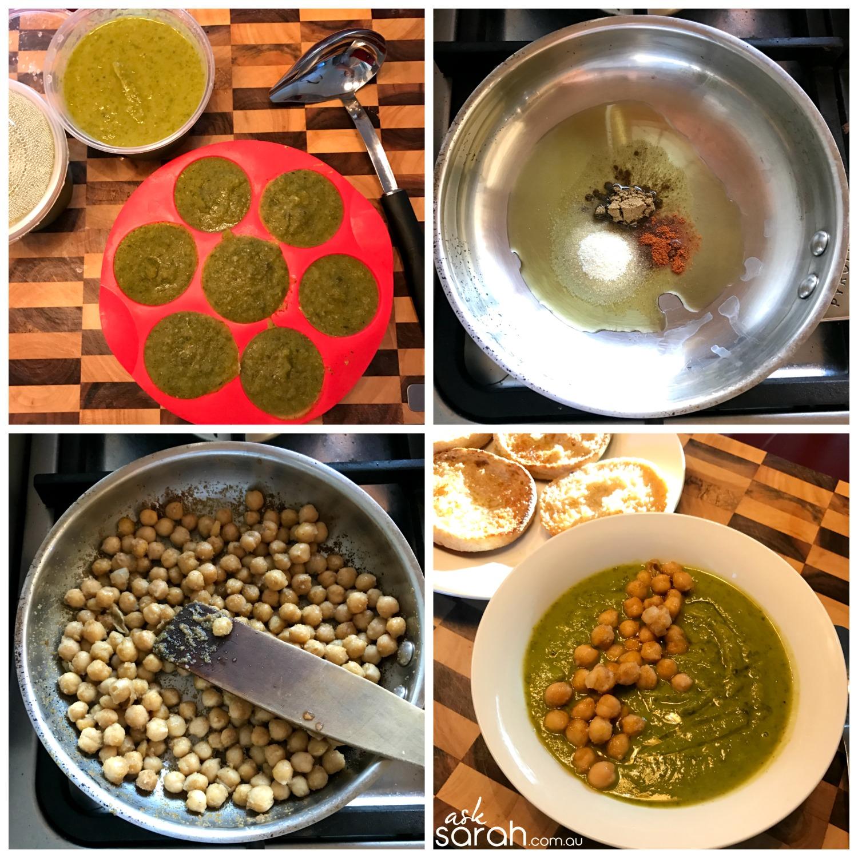 Recipe Green Glow Smoothie Soup {Vegan & GF} Freeze or Serves