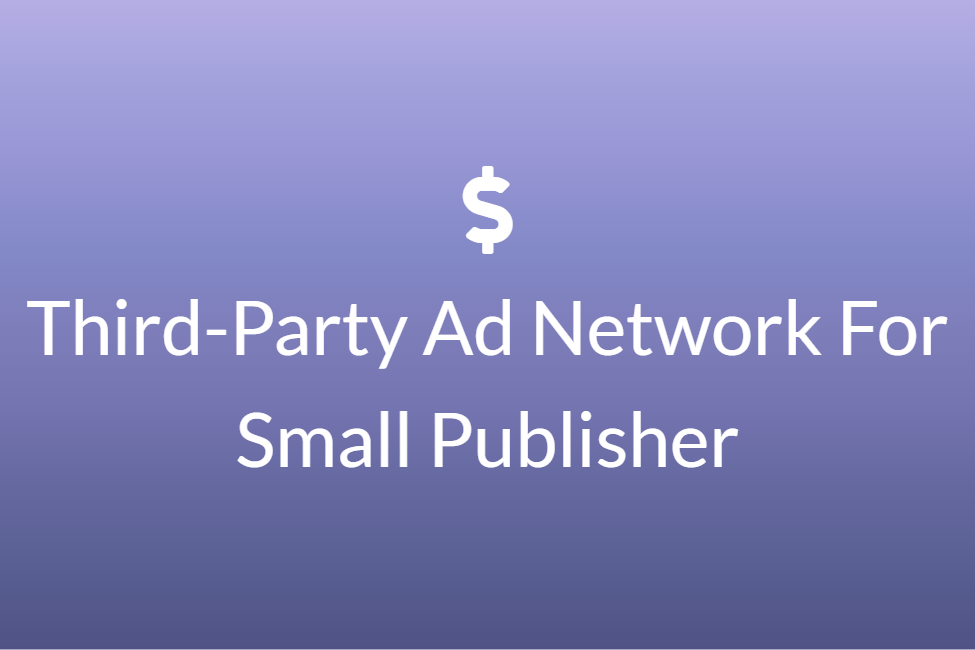 Third-Party Ad Network