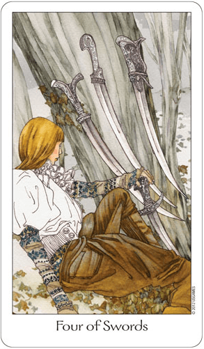 four of swords