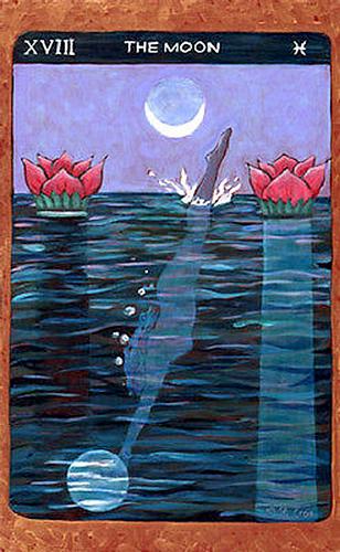 Tarot de St. Croix -- The Moon