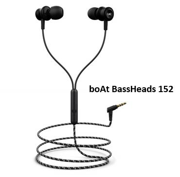 boAt basshead 152 earphones