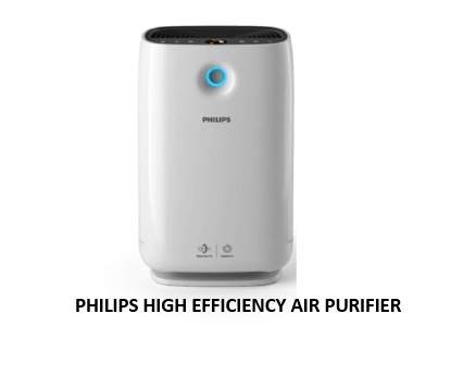 PHILIPS HIGH EFFICIENCY AIR PURIFIER