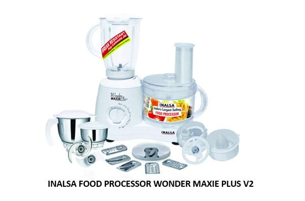 INALSA FOOD PROCESSOR WONDER MAXIE PLUS V2
