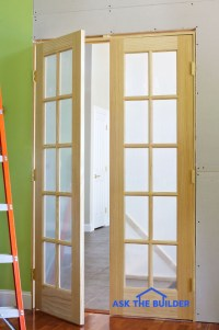 Interior French Doors Add Flair and Light