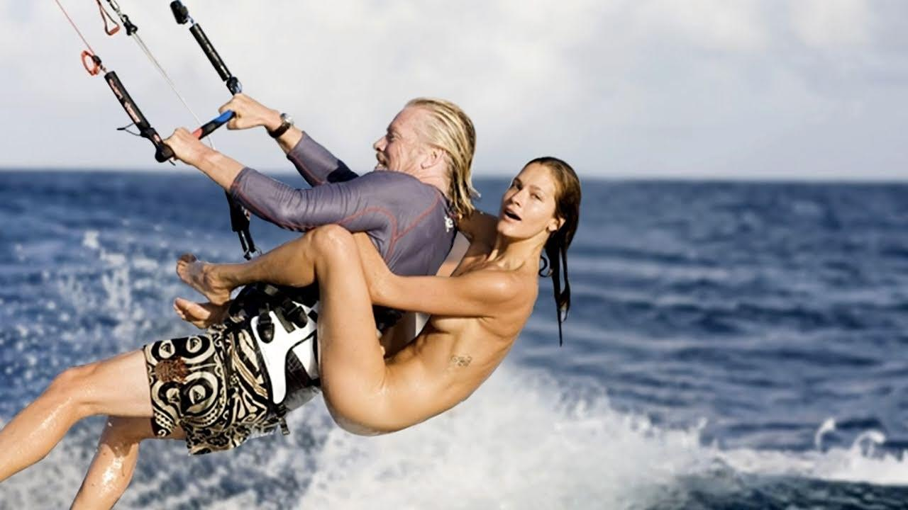 The Story Behind the Naked Model Kitesurfing  Ask The