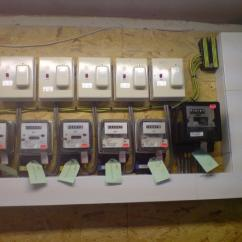 Electric Meter Wiring Diagram Uk Yamaha Guitar Distribution Of Power To Flats. | Screwfix Community Forum